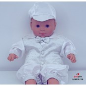 Christening Romper - Free UK Delivery