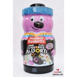 Bassett's Liquorice Allsorts Novelty Jar - Best Before Date - 31.03.2021
