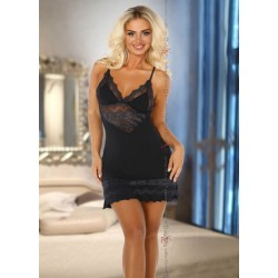 Black Chemise & Thong Set